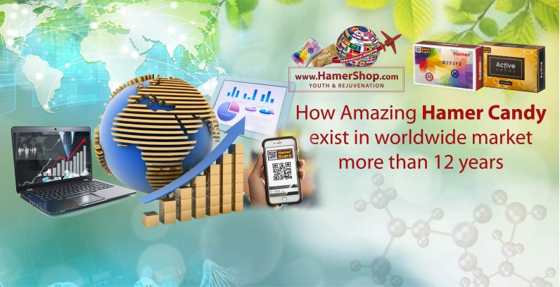How Amazing Hamer Candy exist in worldwide market more than 12 years?