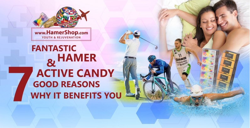Fantastic Hamer & Active Candy: 7 Good Reasons Why it Benefits You