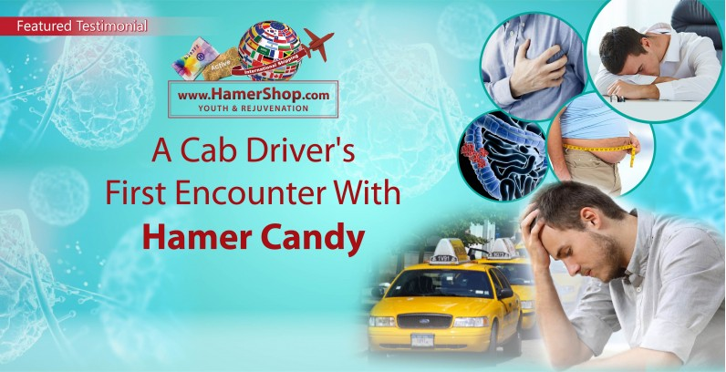 How Amazing Hamer Candy Helps Change a Cab Driver's Life