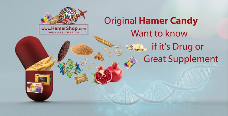 Original Hamer Candy: Want to know if it's Drug or Great Supplement?