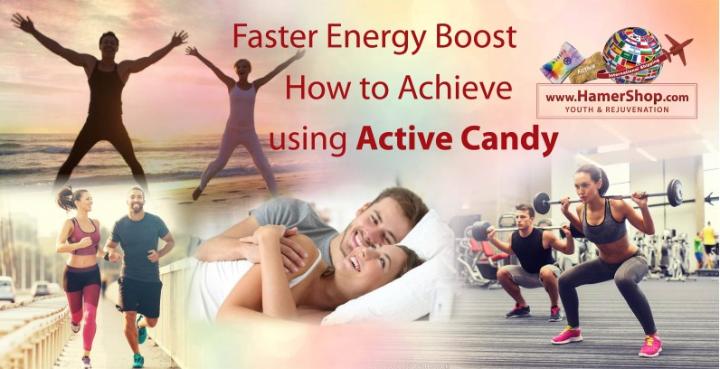 Faster Energy Boost: How to Achieve using Active Candy?