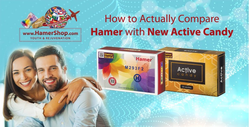 How to Actually Compare Hamer with New Active Candy?
