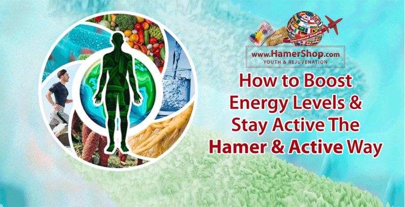 How to Boost Energy Levels & Stay Active The Hamer & Active Way